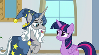 "Star Swirl ""I promise I'll visit your school"" S8E16"