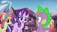Starlight Glimmer feigning surprise S6E1