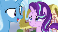 Starlight Glimmer moved by Trixie's words S7E2
