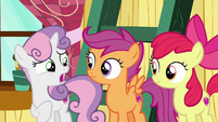"Sweetie Belle ""are you sure you two got this?"" S7E6"