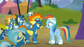 The Wonderbolts confront Rainbow Dash S6E7.png