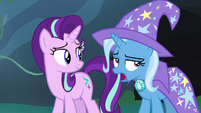 "Trixie defeated ""uh-huh"" S7E17"