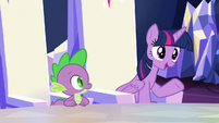 Twilight Sparkle --might make things easier-- S6E25