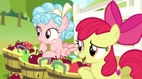 Apple Bloom -help others' chores go faster- S8E12