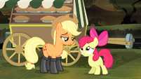 "Apple Bloom asking ""we're good"" S4E17"