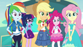 Applejack and friends hear Rarity EGROF.png