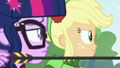 Applejack serving as Twilight's archery guide EG3.png