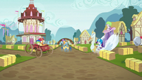 Crusaders' carts about to crash S6E14