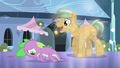 Crystal Pony asks Spike for his autograph S4E24.png