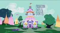 Fashion Do's & Dont's title card RPBB1