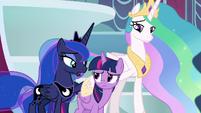 "Princess Luna ""lean on your strengths"" S9E24"