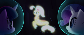 Princess Skystar appears out of the light MLPTM