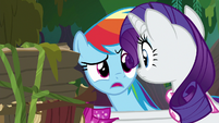 "Rainbow ""how did you know how to do that?"" S8E17"