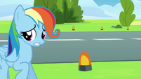 Rainbow --Care Mare-- Dash backing away S6E7