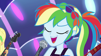 "Rainbow Dash ""let me see that smile"" EGSB"