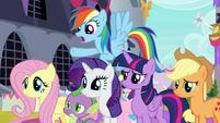 """Rainbow Dash """"you were in a sugar war"""" S9E24"""