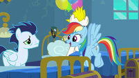 Rainbow Dash --fly with the Wonderbolts-- S6E7