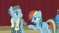 Rainbow Dash --that is so not cool-- S5E15