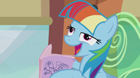 Rainbow imitating Twilight -as long as you share the wealth- S5E8