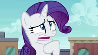 Rarity mumbling unintelligibly S6E3