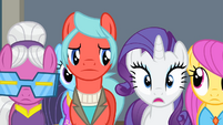 Rarity shocked S4E08