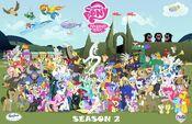 Season 2 cast poster
