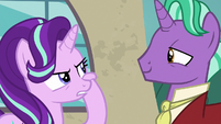 Starlight Glimmer rubbing her sore cheeks S8E8