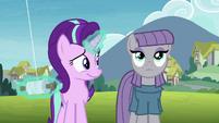 Starlight Glimmer starting to like Maud Pie S7E4