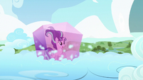 Starlight in crystal block on the cloud S5E26
