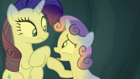 "Sweetie Belle distressed ""how?"" S7E16"