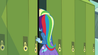 Trixie going through her school locker EGDS12b