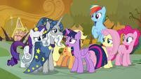 Twilight tells Star Swirl about Tree of Harmony S9E2