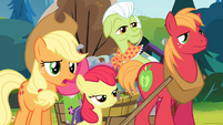 Applejack 'Maybe you could read...' S4E09