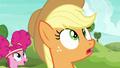 Applejack impressed by Pinkie Pie's kick S6E18.png