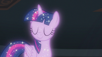 Astral Twilight Sparkle shakes her head S8E22