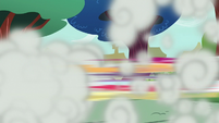 Cozy crashes into the Crusaders in a blur S8E12