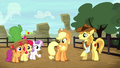 Cutie Mark Crusaders return to the rodeo S5E6.png