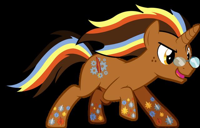 File:FANMADE ImperfectXIII Ponysona Rainbow Power.png