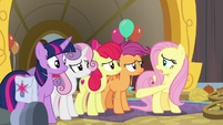 "Fluttershy ""they're the only ones who can"" S9E22"