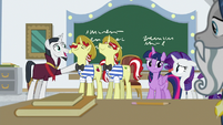 Neighsay accredits Flim and Flam's school S8E16