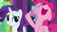 Pinkie Pie squeals with excitement S7E1