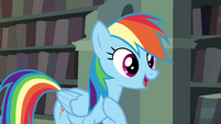 "Rainbow Dash ""being loyal to my friends"" S4E25"