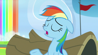 Rainbow Dash -believe it or not- S7E7