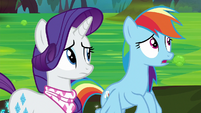Rainbow Dash -really sensitive ears- S8E17