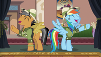 Rainbow and Quibble --awesomest thing ever--- S6E13