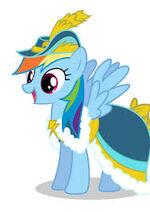 Rainbow dash magical mytery cue