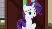 "Rarity ""having a friend in town"" S9E19"