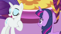 "Rarity ""ponies who need to see me!"" MLPS1"