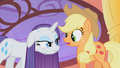 Rarity is not amused by Applejack's dare S01E08.png