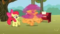 Scootaloo spinning S01E18